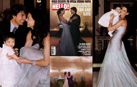 Tom Cruise Grows In Wedding Photo by Tom And S Wedding Album Popsugar