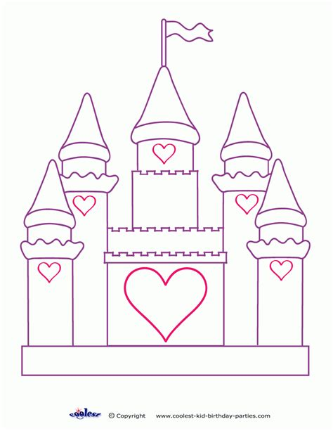 Coloring Page Castle by Free Coloring Pages For Castle Az Coloring Pages