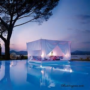 Float With Canopy by Float N Bed In Pool Wit Canopy Dream House Ideaz