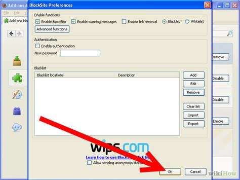 how to block and unblock internet sites with firefox wikihow 5 ways to block and unblock internet sites with firefox