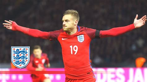 brazil vs england 2 2 official goals and highlights from amazing jamie vardy back heel goal germany 2 3 england