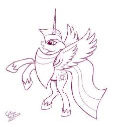 alicorn coloring pages twilight sparkle alicorn by citron vert on deviantart