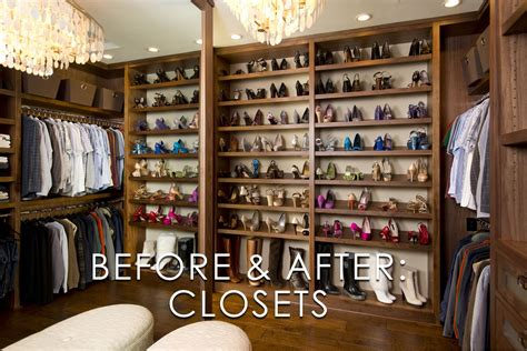 Interior Design Of Kitchens vibrant transitional master closet before and after san