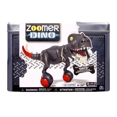 toys r us zoomer spin master zoomer zoomer dino onyx toys r us exclusive