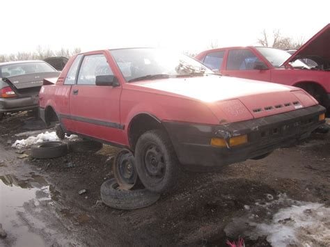 nissan pulsar 1983 junkyard find 1983 nissan pulsar nx the truth about cars