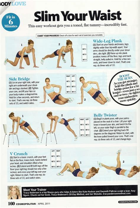 domineau exercises for a slimmer waist and thighs