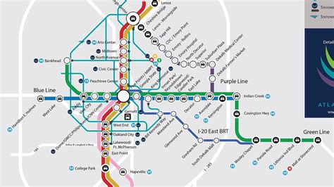 marta station map greatest marta map could actually happen curbed atlanta