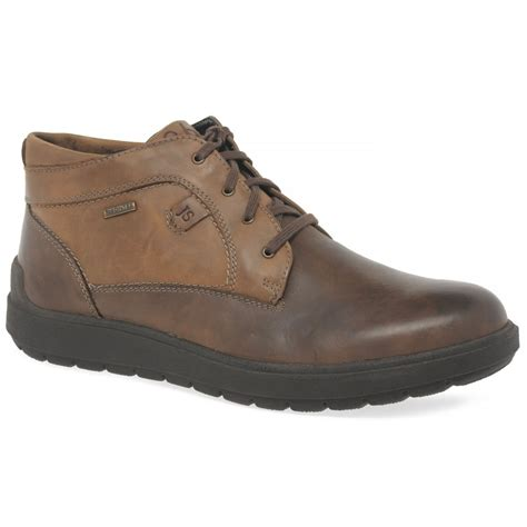 mens casual boots uk josef seibel rudi mens casual boots from charles