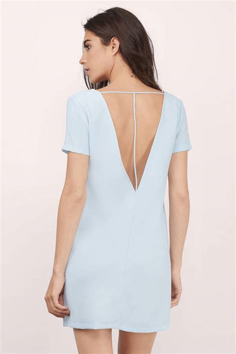Light Blue Shift Dress by Light Blue Shift Dress Ejn Dress