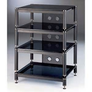 Steel Audio Rack Entertainment Centers Blg Series 4 Glass Shelf Tv Av