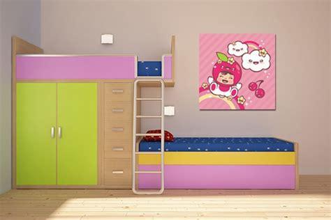 tableau deco chambre enfant d 233 coration chambre enfant tableau chouquette izoa
