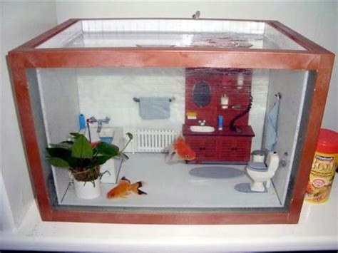 fish tank house diy aquarium dollhouse diorama petdiys com