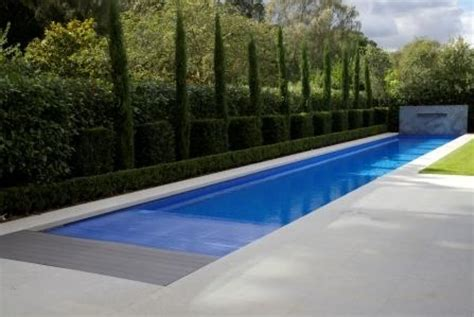 pool design clean lap pool design ideas with trimmed bush