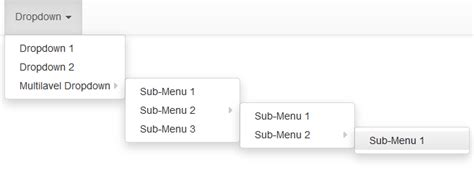 cara membuat menu dropdown bootstrap cara membuat menu dropdwon multilevel di bootstrap