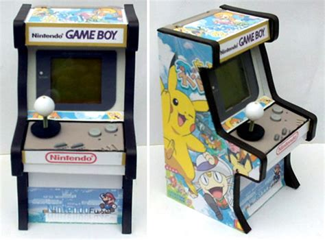 gameboy arcade mod custom gameboy arcade mod yours for just 149 99 ohgizmo