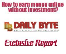 How To Make Money Without Investing Money Online - how to earn or make money online without investment daily byte