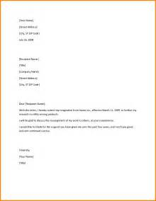 Graceful Resignation Letter by Websights 187 Project Management Template Business Letter Layout Format Resume