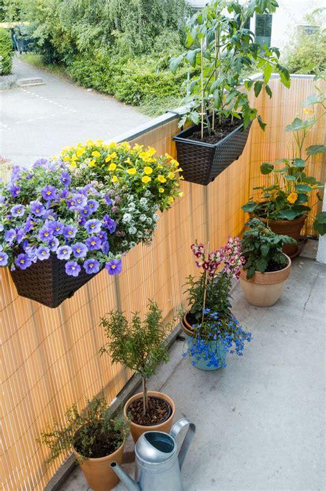 Balkon Sichtschutz Blumen by Sichtschutzmatte Balkon Blumen Entspannter Wohnen