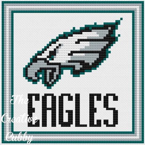 jersey stitch pattern 534 best phillidelphia eagles images on pinterest