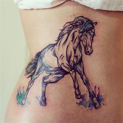 tattoo ink running 62 running horse tattoos ideas
