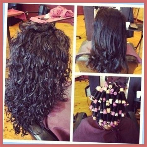 pin curl or spiral perm average cost curly hair on pinterest perms body wave perm and loose