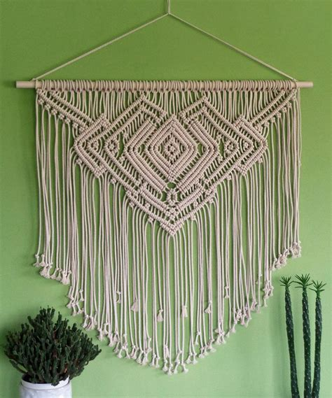 Meaning Of Macrame - 246 macrame wall hanging