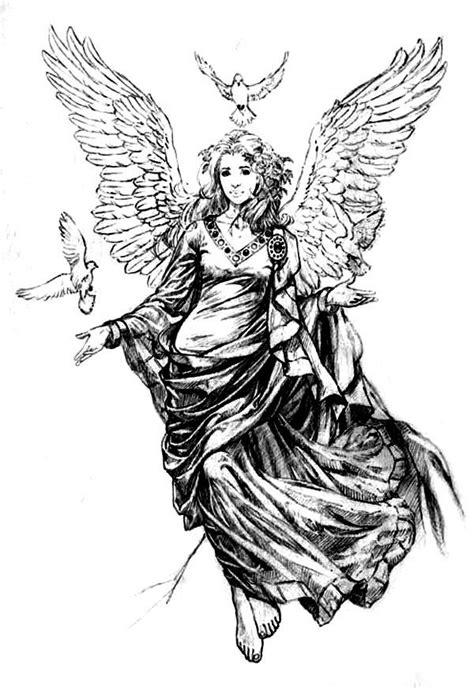 tattoo flash of angels beautiful female angel tattoo flash this is the one i
