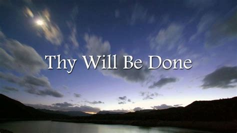 Thy Will Be Done Was And Is To Come Cd thy will be done 171 soul food by innate expressions