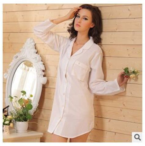 Promo Free Ongkir Bisa Gosend Kemeja Katun Putih Batik Squares Bp05 baru kemeja putih jenis semi katun baju tidur lengan panjang katun piyama rumah tangga untuk