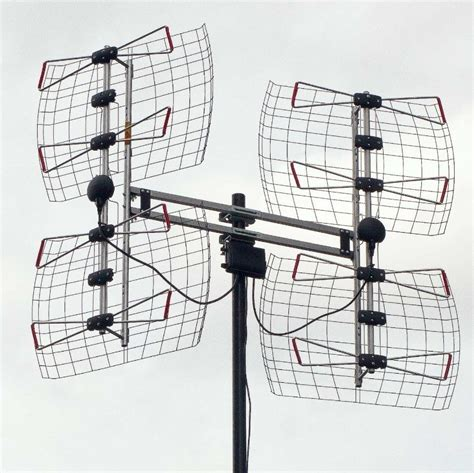 combining  hd antennas   reception