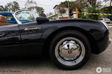 porsche 550 spyder replica spotted in brazil
