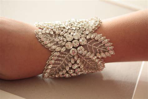 Handmade Cuff Bracelets - bridal cuff bracelet handmade wedding accessories 14