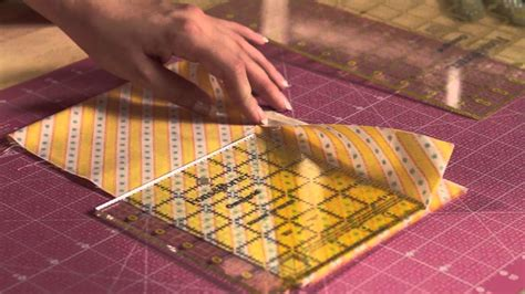 Cutting Strips For Quilting by Quilty Boot C How To Cut Strips Accurately Viyoutube