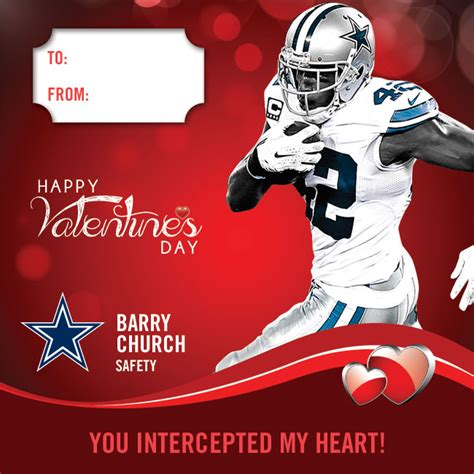 valentines day in dallas diy cowboys valentines for the fan in your