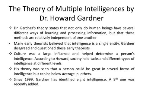 Intellectual Intelligence Essay by Answer The Question Being Asked About Intelligence Essay