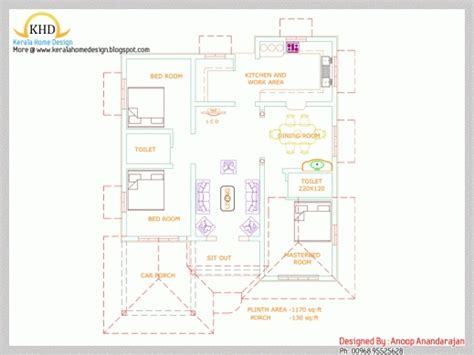 3 bedroom single story house plans kerala kerala house plans 3 bedrooms single floor www redglobalmx org