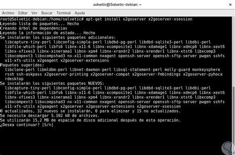 ubuntu x2go tutorial c 243 mo configurar escritorio remoto con x2go en debian 9