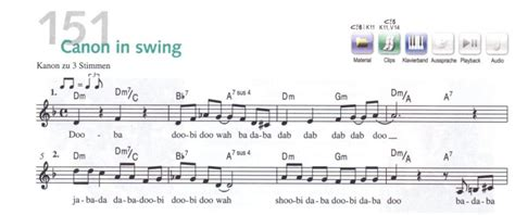 swing swing lyric how do you call this rhythm indication in some music scores