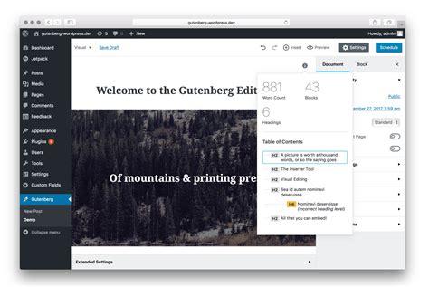 wordpress theme editor editor make wordpress core