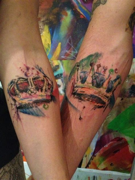 tons  crown tattoos designs royally amazing