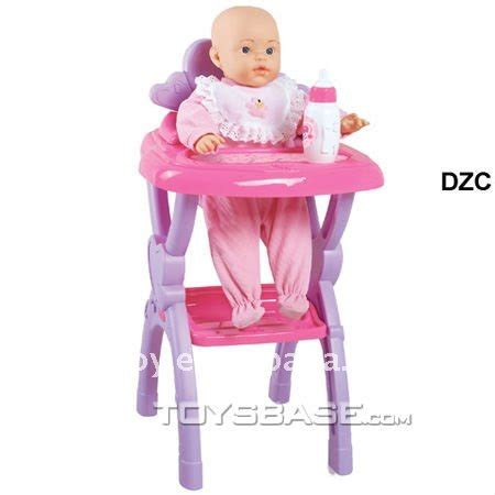 Baby Born Doll High Chair plastic high chair with new born baby doll buy new born