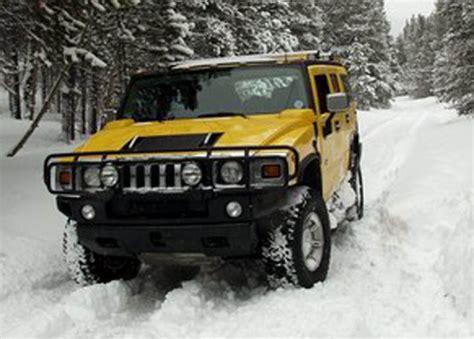 snow hummer hummer in snow big car