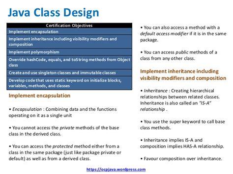 java 8 builder pattern immutable ocp java 8 exam ocpjp 8 quick reference card