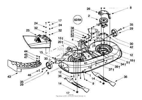 troy bilt lawn mower belt diagram troy bilt 13ad609g063 2000 parts diagram for deck