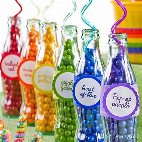 colour themes lollipop candy buffet ideas rainbow party ideas party city