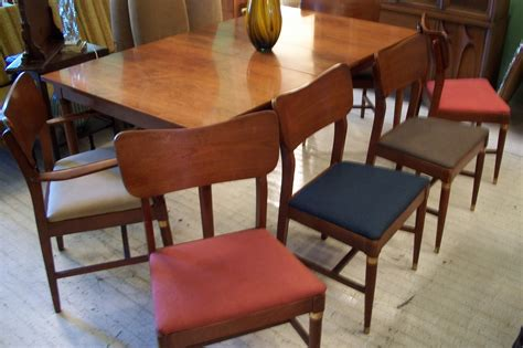 sears roebuck mid century modern dining room set