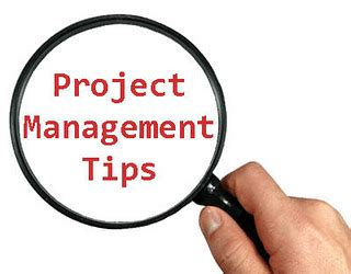 8 Tips On Letting And Finding New by 8 Tips For New Project Managers Sensible Project Manager