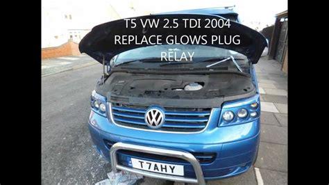 vw t4 glow wiring diagram