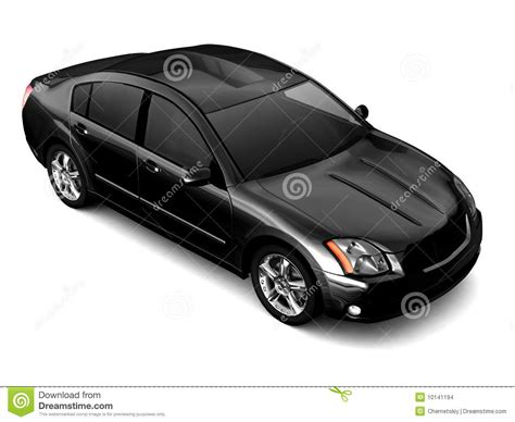 Class Black Premium premium class black car illustration stock illustration