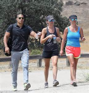 Britneys Ex Bodyguard Blows Lid On Use And by Dodges The And Opts For A Hike Wearing